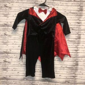 12-18 mo Dracula/Vampire Halloween Costume